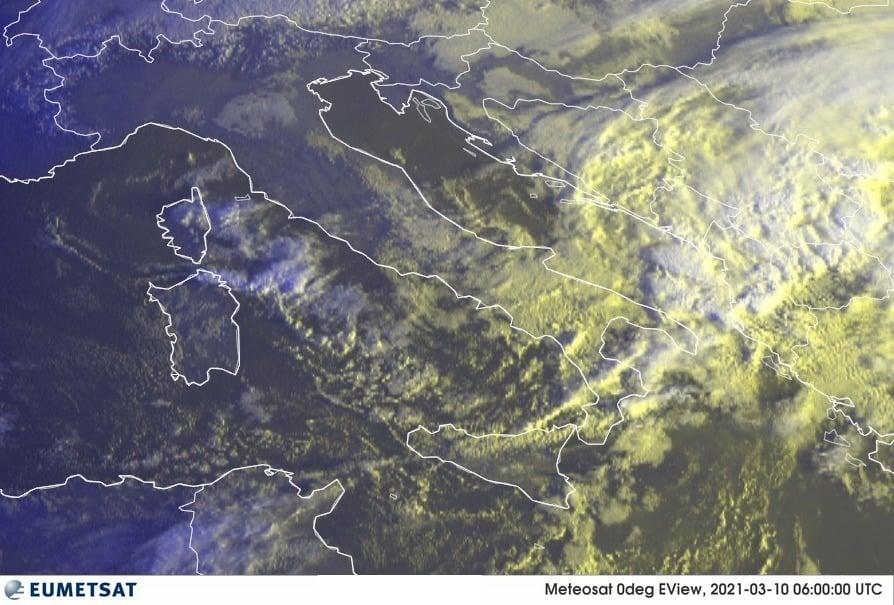 Previsioni Meteo Italia 10-03-2021