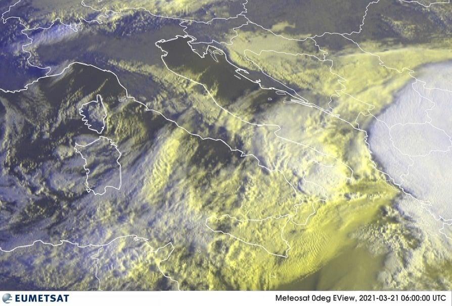Previsioni Meteo Italia 21-03-2021
