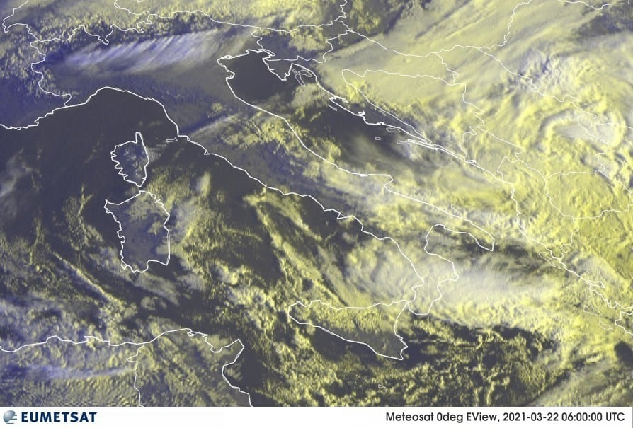 Previsioni Meteo Italia 22-03-2021