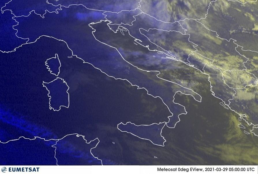 Previsioni Meteo Italia 29-03-2021