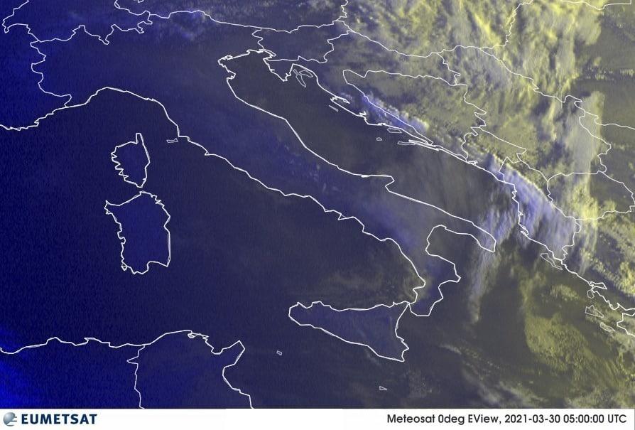 Previsioni Meteo Italia 30-03-2021
