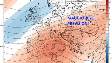 Photo of Tendenza meteo MAGGIO 2021. Previsioni