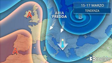 Photo of Meteo: colpo di scena. La più fredda ondata di GELO dell' INVERNO nel mese di MARZO
