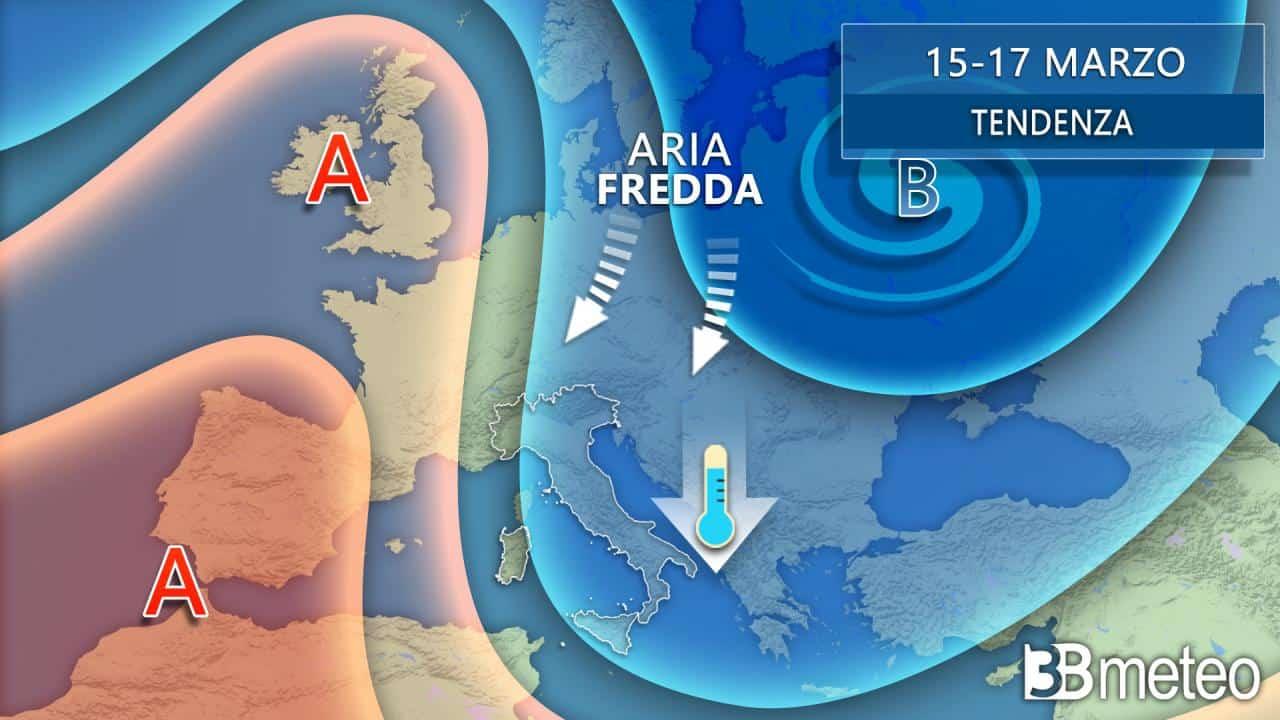 Il meteo a medio termine. Italia a marzo 2021 investita di aria POLARE?
