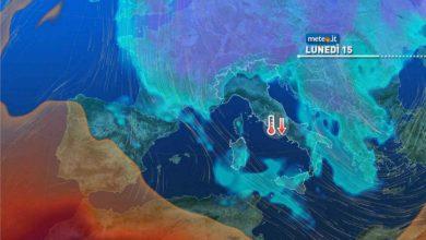 Photo of Meteo, dal 14-15 marzo torna il freddo invernale sull'Italia