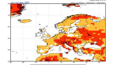 Photo of METEO LUGLIO 2021, previsioni- Il più caldo dell' estate?