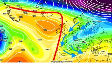 Photo of Previsioni meteo: cambia tutto. Dopo l'anticiclone torna il FREDDO