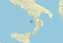 Photo of Terremoto Tirreno Meridionale (MARE) – Magnitudo (ML) 3.5