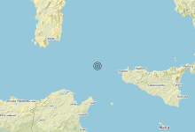 Photo of Terremoto Canale di Sicilia settentrionale (MARE) – Magnitudo (ML) 3.3
