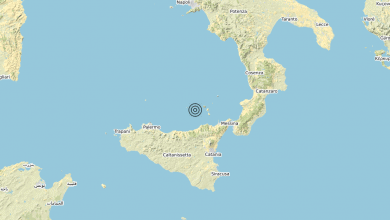 Photo of Terremoto Costa Siciliana nord-orientale (Messina) – Magnitudo (ML) 3.0