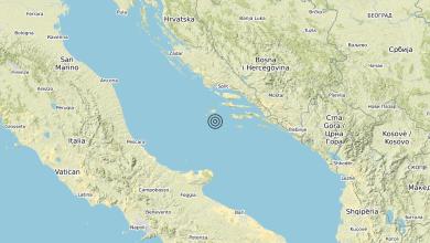 Photo of Terremoto Adriatico Centrale (MARE) – Magnitudo (ML) 4.1