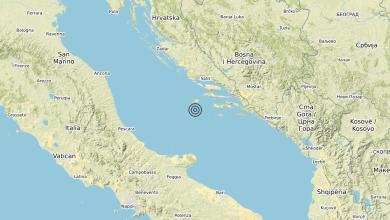 Photo of Terremoto Adriatico Centrale (MARE) – Magnitudo (ML) 4.3