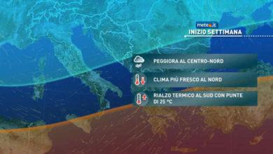Photo of Meteo: previsioni del tempo 25 Aprile, soleggiato e MITE