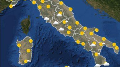 Photo of Meteo am, previsioni per oggi pomeriggio