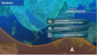 Photo of Meteo di domani: torna il MALTEMPO. Ecco i dettagli