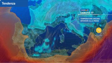 Photo of Meteo di domani e weekend, nuovo peggioramento al CENTRO e al SUD