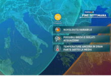 Photo of Meteo di domani e weekend: freddo ma più sole