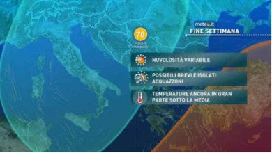 Photo of Meteo di domani e weekend: freddo ma più sole