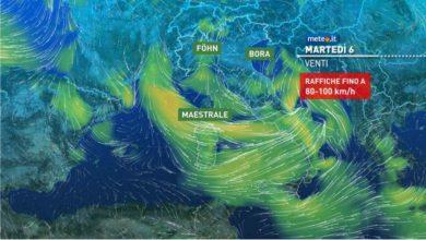 Photo of Meteo di domani, freddo e neve a tratti
