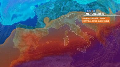 Photo of Meteo: domani nuova perturbazione in arrivo. Ecco dove