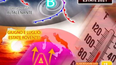 Photo of Meteo: MAGGIO diventa CALDO ma GIUGNO E LUGLIO saranno BOLLENTI