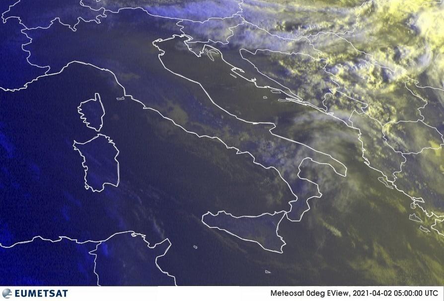 Previsioni Meteo Italia 02-04-2021