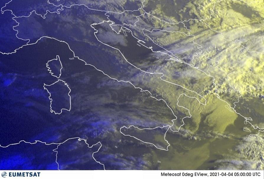 Previsioni Meteo Italia 04-04-2021