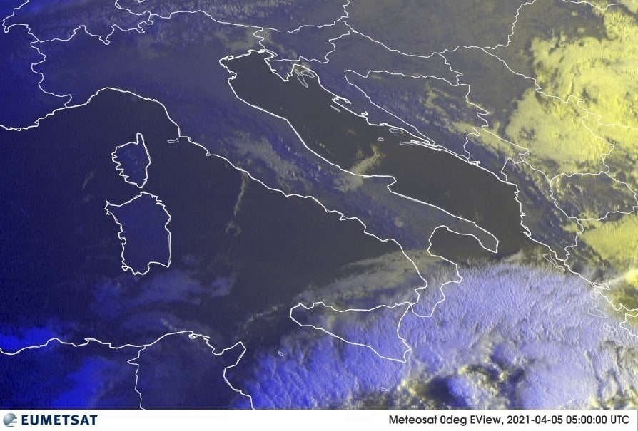 Previsioni Meteo Italia 05-04-2021