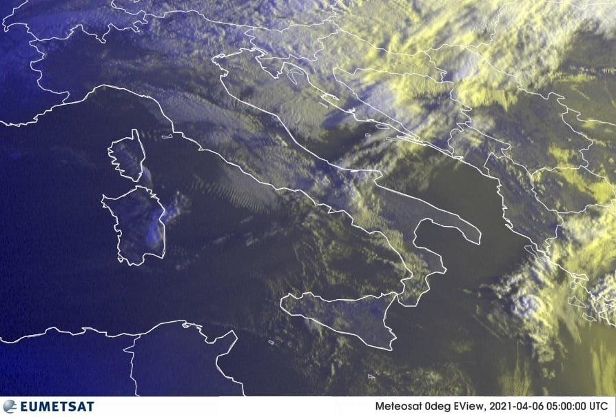 Previsioni Meteo Italia 06-04-2021
