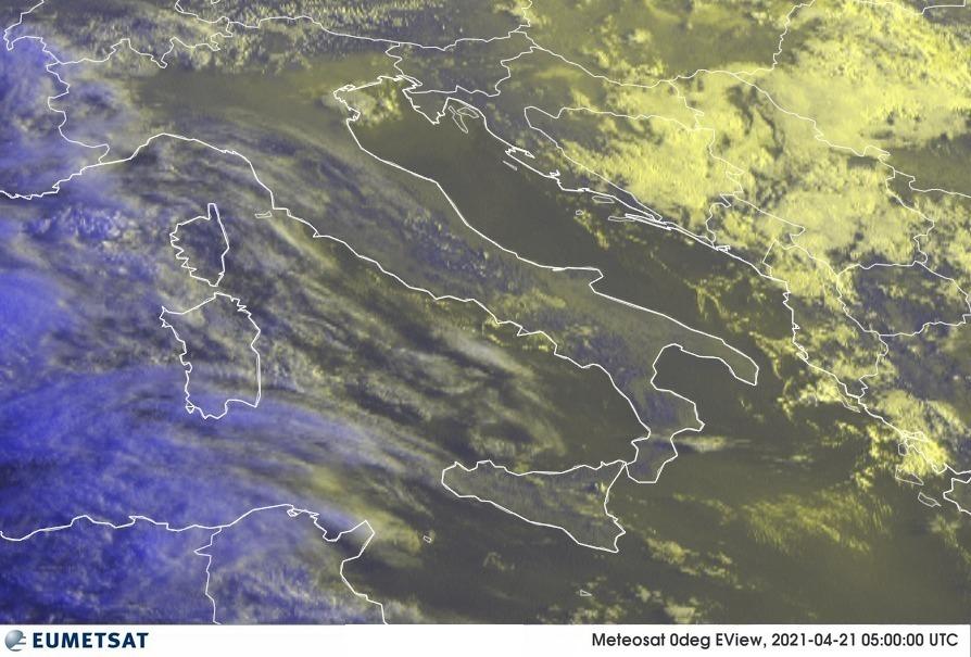 Previsioni Meteo Italia 21-04-2021