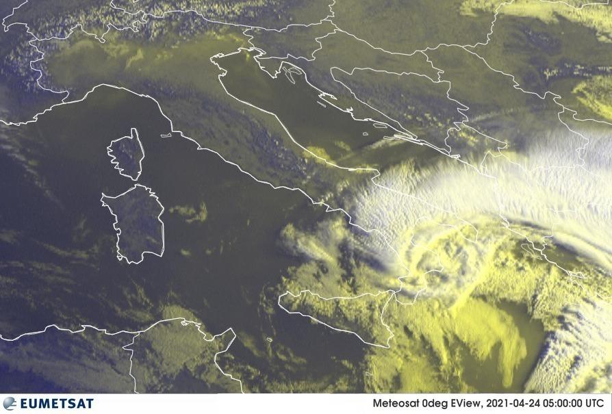 Previsioni Meteo Italia 24-04-2021