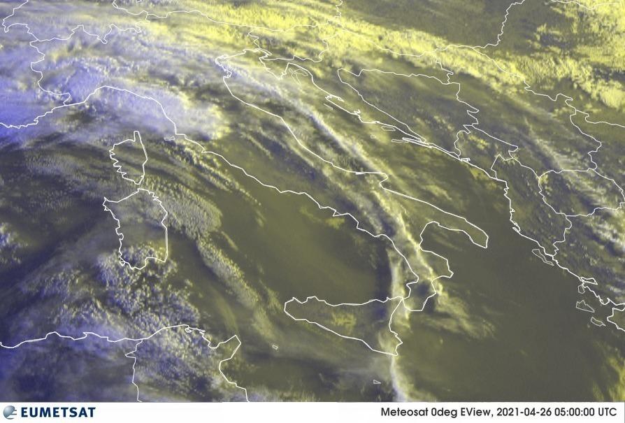 Previsioni Meteo Italia 26-04-2021