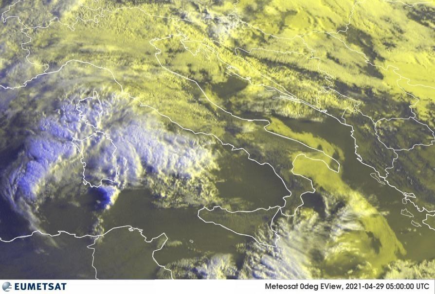 Previsioni Meteo Italia 29-04-2021