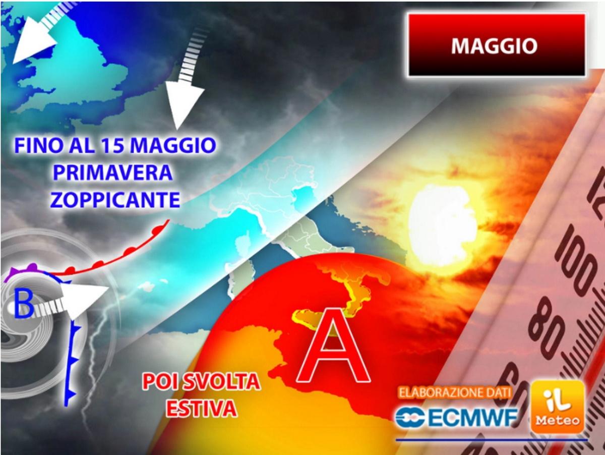Meteo e previsioni del tempo per maggio 2021