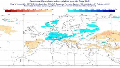 Photo of METEO MAGGIO 2021, previsioni del tempo in dettaglio