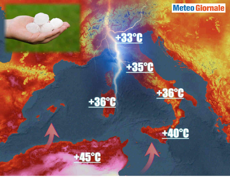 Meteo: maggio 2021 anticiclone africano