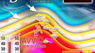 Photo of Meteo MAGGIO: ondata di CALDO FINO A 35 GRADI. DURERA' POCO. Pronta un SCIABOLATA DI ARIA FREDDA