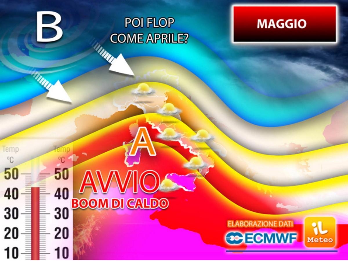 Previsioni meteo maggio