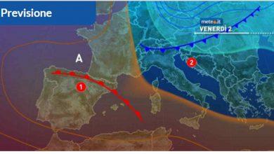 Photo of Meteo oggi, 2 aprile: dal caldo all' INVERNO