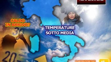 Photo of Meteo: ancora freddo ma CAMBIA TUTTO. Ecco quando avremo i primi 30°