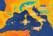 Photo of Meteo, previsioni del tempo per domani. Nuova perturbazione