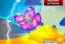 Photo of Meteo prossima settimana: non solo PIOGGE ma anche NEVE e FREDDO. Previsioni a 7 giorni