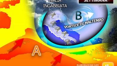 Photo of Previsioni meteo settimana: si conferma la MALATTIA METEO. Continuerà a fare FREDDO