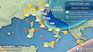 Photo of Previsioni meteo: inverno in Italia con NEVE