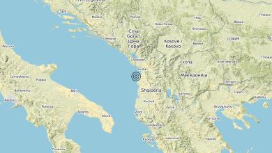 Photo of Terremoto Costa Albanese settentrionale (ALBANIA) – Magnitudo (ML) 3.2