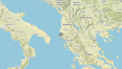 Photo of Terremoto Costa Albanese meridionale (ALBANIA) – Magnitudo (ML) 3.3