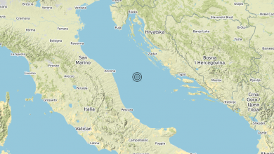 Photo of Terremoto Adriatico Centrale (MARE) – Magnitudo (ML) 3.8