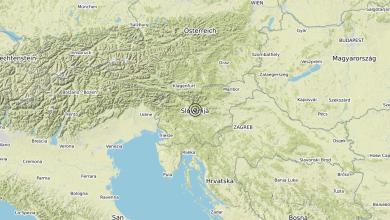 Photo of Terremoto Slovenia (SLOVENIA) – Magnitudo (ML) 3.0