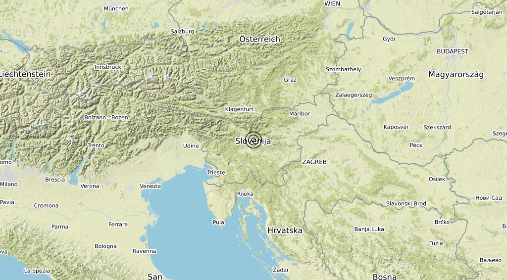 Terremoto 20-04-2021