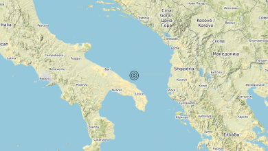 Photo of Terremoto Costa Adriatica Brindisina (Brindisi) – Magnitudo (ML) 3.0